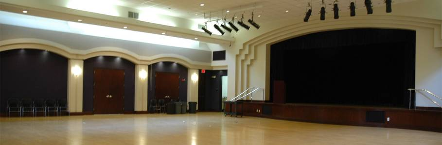A beautiful multipurpose space ideal for performances, banquets, receptions or conferences.