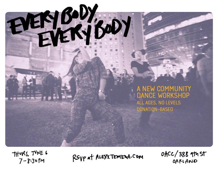 Community Dance Class - half size flyer (1)